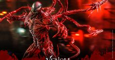 Carnage Movie, Venom Figure, Cletus Kasady, Pop Culture Store, Symbiotes Marvel, Hand Accessories, Sideshow Collectibles, The Villain, Tentacle