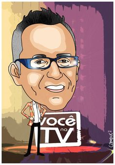 Ricardo Campus - Caricaturas: Caricatura de Manuel Luís Goucha