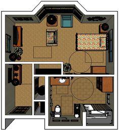 CCRC Assisted Living Studio Apartment https://seniorsource.com/