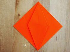 Origami Jack-O-Lantern Pumpkin Kid Art, Art For Kids, Origami Pumpkin, Crafts For Kids, Arts And Crafts, Oragami, Origami Instructions, Craft Activities