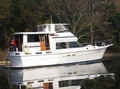 1985 Gulfstar 44 Motor Yacht Power Boat For Sale - www.yachtworld.com