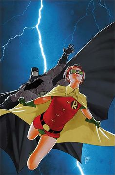 Batman and Robin by Mikel Janin