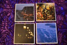 In Venice Coaster Set by YourSweetEscape on Etsy