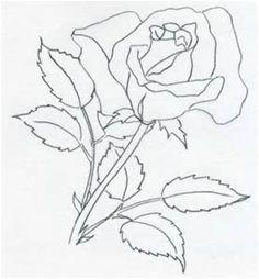 Simple Pencil Drawings of Roses - Bing images