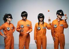オレンジ色の人たち。