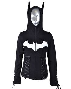 Poizen Batman Night Girls Hoodie