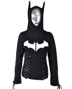 Poizen Batman Night Girls Hoodie