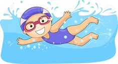 Swimming Stock Vector Illustration And Royalty Free Swimming Clipart