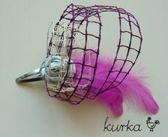 spinka ślubna handmade by kurka