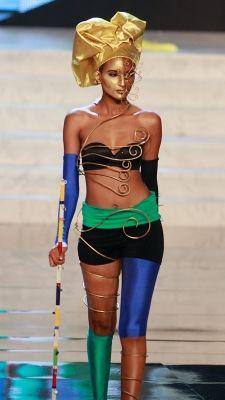 Miss Universe 2012 National Costumes: Tanzania