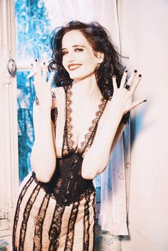 "algophilatreia: "" spookyloop: "" xavierlightwood: "" Eva Green photographed by Ellen von Unwerth for Glamour Italy "" Okay, on top of the fact that she's gorgeous and this looks is amazing, that dress is. Actress Eva Green, Most Beautiful, Beautiful Women, Beautiful Female Celebrities, Ellen Von Unwerth, Penny Dreadful, Actrices Hollywood, French Beauty, French Actress"