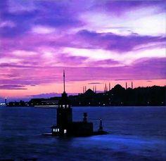 Gün batımı Istanbul