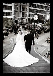 Ceremony at the Marriott, downtown South Bend