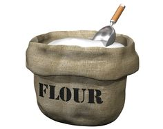 It's a common misconception that flour will simply last forever; however, that's just not the case. Store flour in airtight containers in the refrigerator or freezer. Flour kept in the pantry will last up to six months, but in the freezer, flour can last up to one year. Remember to write expiration dates on the airtight containers.