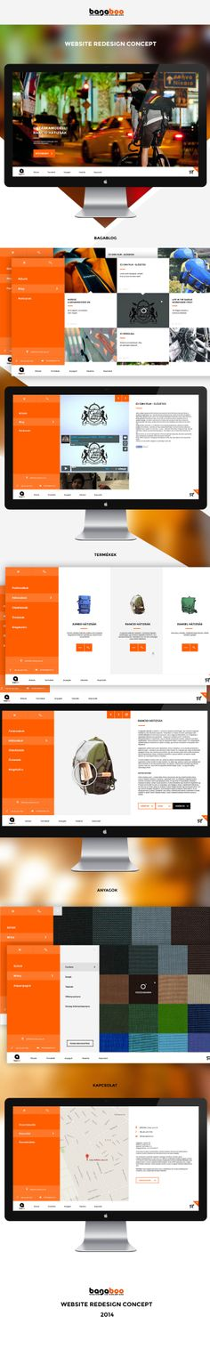 Bagaboo site redesign
