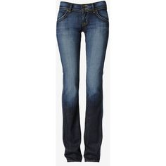 Hudson Jeans Signature Supermodel Bootcut ($198) ❤ liked on Polyvore...just got mine...perfect for us tall-slim ladies who still want to wear heels:)) I love!!