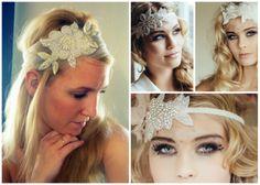 Una cinta para el pelo en lugar de velo: el estilo de los años 20 dominó las tendencias nupciales en accesorios para 2014, y desde Zankyou queremos contarte qué más llevarán las novias el próximo año.