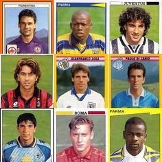 Classic 90s serie a panini #seriea #football #footballplayer #italy #italia #calcio #calcioitalia #panini #footballsticker #baggio #asprilla #delpiero #costacurta #zola #thuram #totti #buffon #italianfootball #90s #90sfootball #juventus #acmilan #roma #parma #fiorentina #retro #retrofootball #vintage #vintagefootball