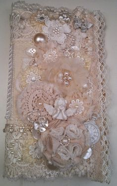 MsGardenGrove1: OCT-DT Gorgeous Fabric dressform mini/Stand/Stick pin book created by Linda