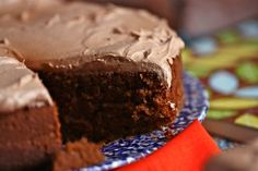 Icing....doubled recipe...used 5 heaping tablespoons of dark cocoa instead of melted chocolate and 1/4 to 1/2 cup of whipping cream. Beat until light and fluffy, about 5minutes