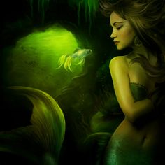 The mermaid by ElenaDudina.deviantart.com on @DeviantArt