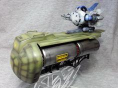 MSM-07Di Ze'Gok (Con trasporto di Container per armi Tipo A) - Principato di Zeon e 604 Technical Evaluation Unit (OVA: Mobile Suit Gundam MS IGLOO: Apocalypse 0079.)