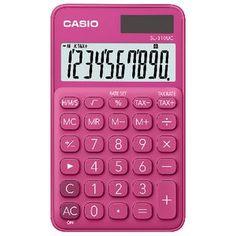 Casio 10 Digit Portable Calculator Red SL-31OUC