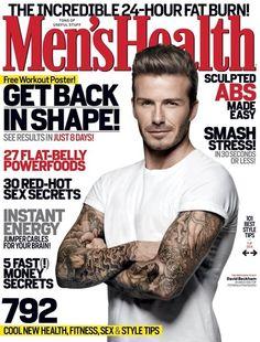 Davis Beckham by Doug Inglish for Men's Helath UK, March 2012