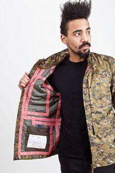 gilzeiduubj Aspesi Apecs Camouflage Jacket