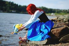 If I could do a photo shoot of me dressed up as Ariel I would - don't judge.
