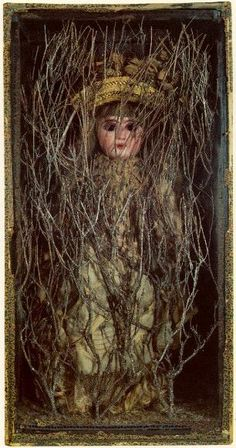 Untitled (Bebe Marie): early 1940s by Joseph Cornell (Museum of Modern Art, NYC)