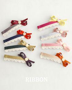 Hair Ribbons, Diy Hair Bows, Bow Hair Clips, Ribbon Art, Diy Ribbon, Ribbon Bows, Hair Decorations, Diy Headband, Bijoux Diy