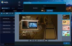 The GUI in the DVDFab Creator module!