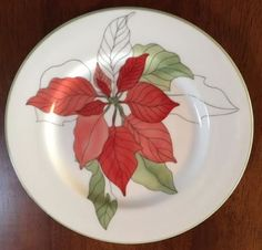 Up for sale is a nice set of 4 Block Spal salad plates. These are made in the Geranium design by Mary Lou Goertzen, A nice addition to your collection. Blocks, Poinsettia, Tableware, Plates, Nice Sets, Christmas, Decorative Plates, Geraniums, Home Decor