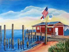 Art - American Fish Co./ Safe Haven Ivan's by Shelia Kempf - prints available