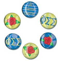 Phi Sigma Sigma Sorority Magnets $6.99