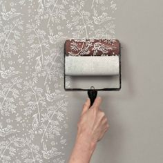 Get the Wallpapered Look Easily With Patterned Paint Rollers