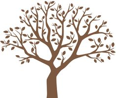 Family Tree Wall Decal, Large Tree Decals, Photo, Memories Tree Stickers (available in white). $89.99, via Etsy.