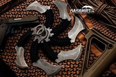 Fallen Oak Forge's OUTCAST karambit is in stock now! Kydex sheaths are now included with purchase! Get yours on karambit.com!