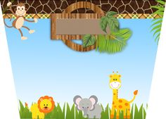 Montando a minha festa: Safari Meninos