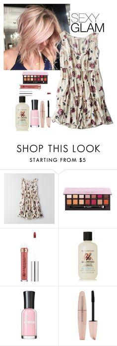 """""""Untitled #1516"""" by purplicious ❤ liked on Polyvore featuring beauty, American Eagle Outfitters, Anastasia Beverly Hills, Bumble and bumble and Forever 21"""