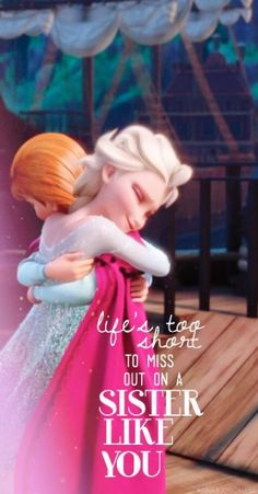 Ideas quotes disney frozen songs for 2019 Frozen Sisters, Frozen Sister Quotes, Frozen Quotes, Frozen Songs, Older Sister Quotes, Elsa Quotes, Nephew Quotes, Cousin Quotes, Daughter Quotes