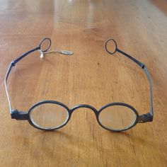 18th Century Folding Eyeglasses: c.1761