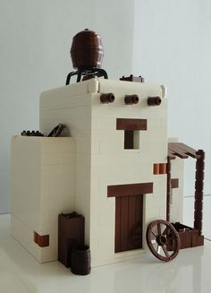 LEGO MOC Western Pueblo 022 | by Jotabeeeeeee