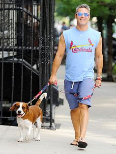 Stars and Their Pets | ANDY COHEN | The fur is flying for the talk show host and pooch Wacha, who make for a dapper duo on a Monday walk through New York City.