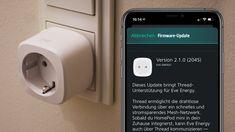 Thread-Unterstützung für erste Eve-Produkte Software, Smart Home, Mini, Phone, Products, Smart House, Telephone, Mobile Phones