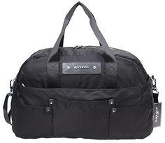 595335d838 Iblue Medium Gym Bag Waterproof Nylon Travel Carry on Duffle Bag 175 Inch  Bl8023 L black