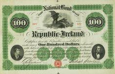 Rare 100$ Fenian Bond Irish Republican Brotherhood, Erin Go Bragh, Ireland Homes, Norse Vikings, Irish Blessing, Irish Eyes, Irish Celtic, Irish Traditions, Luck Of The Irish