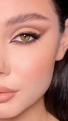 ✅✅✅✅ Edgy Makeup, Makeup Eye Looks, Eye Makeup Steps, Eye Makeup Art, Cute Makeup, Gorgeous Makeup, Skin Makeup, Eyeshadow Makeup, Seductive Makeup