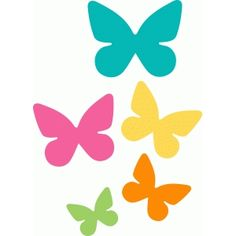 Silhouette Design Store - View Design #62982: butterfly cluster